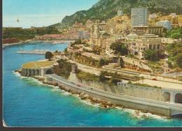 C. P. - PHOTO - PRINCIPAUTE DE MONACO - MONTE CARLO - VUE AERIENNE - Y. KERAMBRUN - EN 1971 - Monte-Carlo