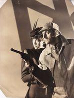 Basil Rathbone As Sherlock Holmes 1957 Rare Press Photo - Music And Musicians