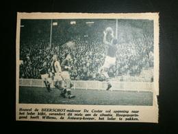 Beerschot-Antwerp: Voetbal 1946 - Documents Historiques