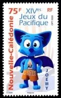 NOUV.-CALEDONIE 2009 - Yv. 1089 **   Faciale= 0,63 EUR - Sport. XIVemes Jeux Du Pacifique  ..Réf.NCE25656 - Nueva Caledonia