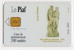 PIAF FRANCE LYON Ref Passion PIAF 69000-33 200 U ORGA 3 - Parkeerkaarten