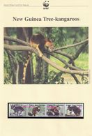 New Guinea Tree Kangaroo WWF Stamps And Set Of 4 First Day Cover Bundle - Otros