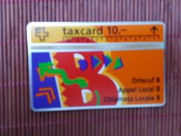 Phonecard Zwitserland 206 B (Mint,Neuve) Rare - Suisse