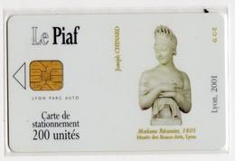 PIAF FRANCE LYON Ref Passion PIAF 69000-34 200 U ORGA 3 - Parkeerkaarten
