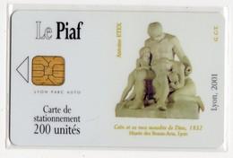 PIAF FRANCE LYON Ref Passion PIAF 69000-35 200 U ORGA 3 - Parkeerkaarten