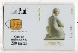 PIAF FRANCE LYON Ref Passion PIAF 69000-36 200 U ORGA 3 - Parkeerkaarten