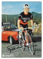 CARTE CYCLISME VLADIMIRO PANIZZA SIGNEE TEAM COSATTO 1971 FORMAT 15 X 21 - Cyclisme