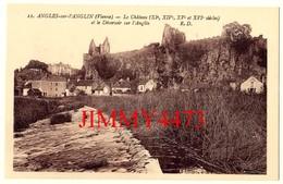 CPA - ANGLES-sur-L'ANGLIN - Le Déversoire Sur L'Anglin ( Arr. De Montmorillon ) 86 Vienne - N°12 - R. D. - Edit. Dorange - Autres Communes