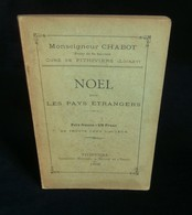 ( Christianisme Pithiviers ) NOËL DANS LES PAYS ETRANGERS   Mgr CHABOT 1918 - Religión