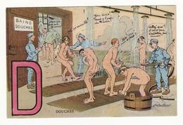 DOUCHES - Alphabet Du Soldat - Humoristiques