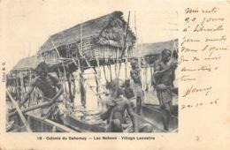 Dahomey - 1906 - Lac Nokoué - Village Lacustre - Dahomey