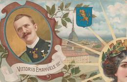 50 ANNIVERSARIO PROCLAMAZIONE REGNO D'ITALIA - 1911 - PUZZLE ITALIA RISORTA VITTORIO EMANELE III - ILLUSTRATORE  COLOMBO - Manifestazioni