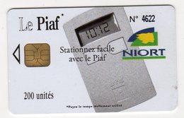 PIAF FRANCE NIORT Ref Passion PIAF 79000-6 200 U ORGA 3 Date 12/05 Tirage 1000 Ex - Francia