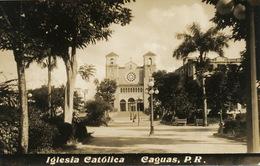 Real Photo Caguas P.R. Iglesia Catolica - Puerto Rico