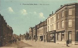 FLERS-LEZ-LILLE ( 59 ) - Nord - Rue Jean Jaurès - France