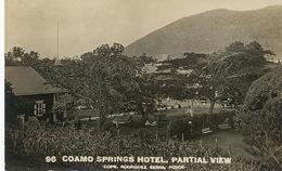 Real Photo Coamo Springs Hotel Partial View Edicion Rodriguez Serra, Ponce - Puerto Rico