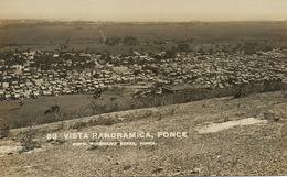 Real Photo Ponce Vista Panoramica Edicion Rodriguez Serra - Puerto Rico