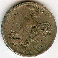 Tchécoslovaquie Czechoslovakia 1 Koruna 1946 KM 19 - Tchécoslovaquie