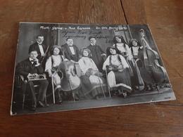 MUSIK- GESANG- UND TANZ ENSEMBLE - DIR. OTTO BARANOWSKY - Von BRAUNSCHWEIG 25.8.1912 Auf INSEL HELGOLAND - Musique Et Musiciens