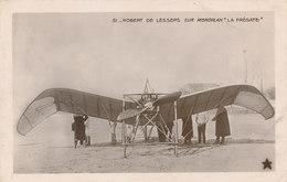 """Robert De LESSEPS Sur Monoplan """" LA FREGATTE """" - ....-1914: Précurseurs"""