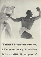 32-Fascismo-Stampa Tema: Sport:-Lancio Del Disco E Del Giavellotto-cm.23,5 X 32,5 Da Realizzare Poster - Sport