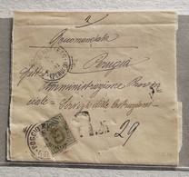 Fascetta Raccomandata Per Perugia - 05/01/1901 - Marcophilia