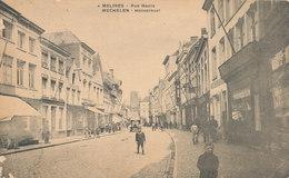 MALINES -MECHELEN  Rue Haute  -hoogstraat - Malines