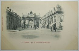 NANCY Arc De Triomphe Rue Héré - Nancy