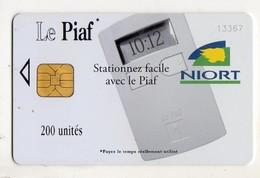 PIAF FRANCE NIORT Ref Passion PIAF 79000-15 200 U ORGA 3 Date 03/09 Tirage 2000 Ex - Francia