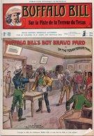 EO BUFFALO BILL N* 40 - SUR LA PISTE DE LA TERREUR DU TEXAS -  LE HEROS DU FAR-WEST -  EDITION ATLAS. - Aventure