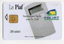 PIAF FRANCE NIORT Ref Passion PIAF 79000-14 200 U L&G Date 12/08 Tirage 1000 Ex - Francia