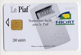 PIAF FRANCE NIORT Ref Passion PIAF 79000-17 200 U ORGA 3 Date 06/09 Tirage 2000 Ex - Francia