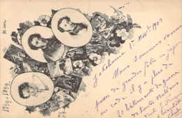 RUSSIE RUSSIA  1799-1899 100 Ans Naissance POUCHKINE Carte Illustrée Précurseur  Пушкин - Russland
