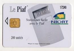 PIAF FRANCE NIORT Ref Passion PIAF 79000-19 200 U L&G Date 03/10 Tirage 2100 Ex - Francia