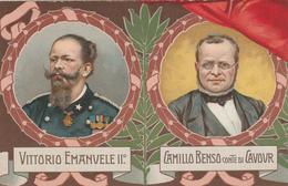 50 ANNIVERSARIO PROCLAMAZIONE REGNO D'ITALIA - 1911 - PUZZLE ITALIA RISORTA VITTORIO EMANUELE II - ILLUSTRATORE  COLOMBO - Manifestations