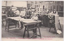 62  CALAIS - Industrie Tulliere Atelier Perçage Des Cartons - CPA  9x14 N/B  BE - Calais