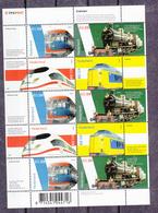 Nederland 2005 Nvph Nr 2366 - 2369 , Mi Nr 2338 - 2341, Blauwe Engel, Loc 737, Intercity, Koploper - Treni