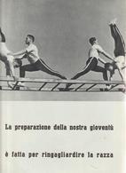 37-Fascismo-Stampa Tema: Sport::Corpo Libero Alle Parallele E Cerchi-cm.23,5 X 32,5 Da Realizzare Poster - Sport