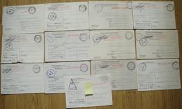 Correspondance Prisonnier Militaire Stalag VI A Hemer (Kr. Iserlohn) Commando 77  VI D Dortmund  2502 Lot De 68 Lettres - Poststempel (Briefe)