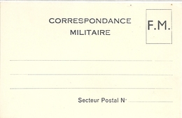 Carte Lettre Franchise Militaire - Franchigia Militare (francobolli)