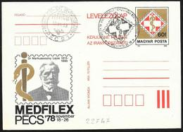 Ungheria/Hungary/Hongrie: Stationery, Lajos Markusovszky - Medicina