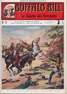 EO BUFFALO BILL N* 71 - LE RANCHO DES REVENANTS -   LE HEROS DU FAR-WEST -  EDITION ATLAS. - Aventure