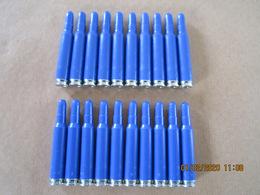 20 Cartouches Bleues à Blanc Cal 5,56 Mm Suisse - Equipement