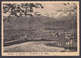 Italia -  LUSERNA SAN GIOVANNI, Panorama E Le Alpi, 1943 - Italia