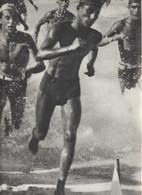 39-Fascismo-Stampa Tema: Sport::Podismo E Lancio Del Giavellotto-cm.23,5 X 32,5 Da Realizzare Poster - Sport
