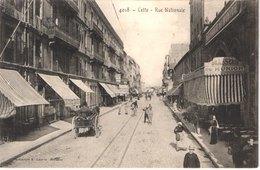 FR34 SETE CETTE - Lacour 4018 - Rue Nationale - Brasserie De Munich - Attelage - Animée - Belle - Sete (Cette)