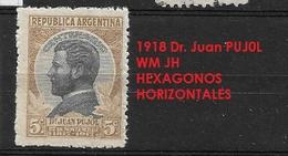 ARGENTINA  1918 The 100th Anniversary Of The Birth Of Juan Gregorio Pujol  GJ # 456 - Argentine