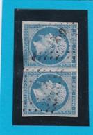 N° 14B  PC 1759  LONS-le-SAUNIER  ( 38 )   JURA - REF 14112 + Variété - 1853-1860 Napoleon III