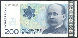 Norway - 200 Kroner 2013 - P50f - Noruega