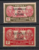 Wallis Et Futuna - 1930-38 - N°Yv. 58 Et 58A - Bougainville - 2 Valeurs - Neuf Luxe ** / MNH / Postfrisch - Wallis And Futuna